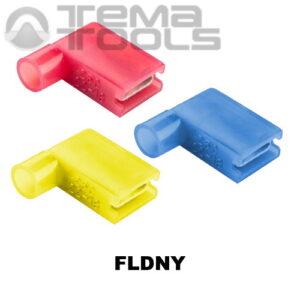 Коннекторы плоские угловые FLDNY с полной изоляцией «мама»
